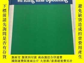 二手書博民逛書店COMMUNICATION罕見Writing and Speaking(寫作和口語的交流)【精裝本】書內有筆記