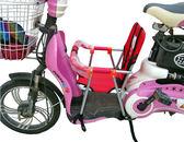 電動車兒童座椅前置摩托踏板車電瓶車自行車小孩寶寶嬰兒安全座椅 IGO