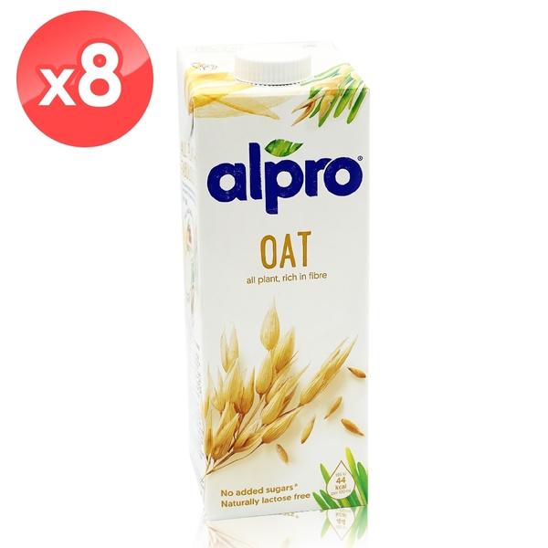【ALPRO】原味燕麥奶8瓶組 (1公升*8瓶) 效期2021/04