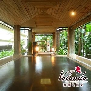 (烏來)馥蘭朵烏來渡假酒店-1人大眾裸湯+套餐(2張)