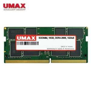 【綠蔭-免運】UMAX NB DDR4 2666/16G 筆記型RAM