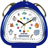小禮堂 湯姆貓傑利鼠 三角型鬧鐘 (塗鴉款) 4548626-14619