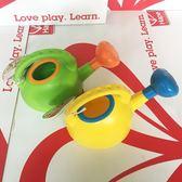 店長推薦hape兒童水壺戲水玩沙灘玩具2-6歲男女孩寶寶洗澡灑水玩具黃 綠色