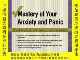 二手書博民逛書店Mastery罕見Of Your Anxiety And Panic: Workbook For Primary