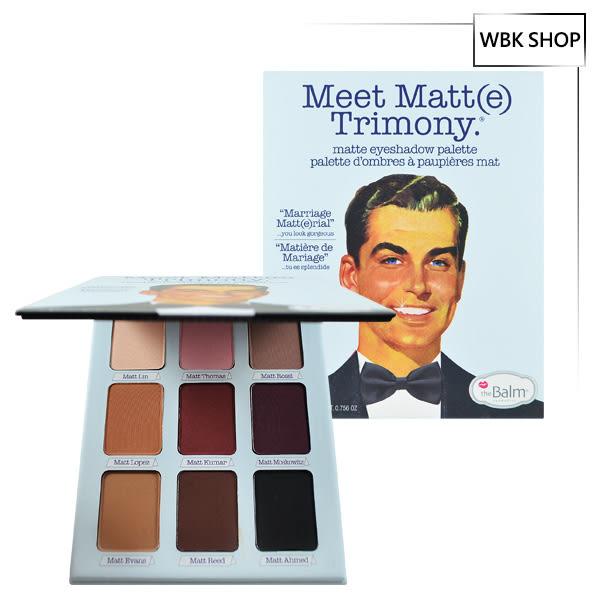 The Balm 霧先生9色眼影盤暖色系 21.6g Meet Matt(e) Trimony Matte Eyeshadow Palette - WBK SHOP