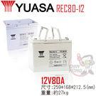 YUASA湯淺REC80-12 高性能密...