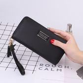 新款手拿包女士錢包女長款拉鍊大容量簡約時尚錢夾皮夾手機包 時尚潮流