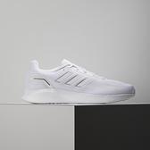 Adidas RUNFALCON 2.0 男 白 輕量 緩震 慢跑鞋 FY9612