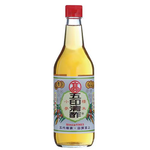 彰化高印五印清醋520ml【愛買】