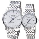 MIDO美度錶 BARONCELLI 永恆系列III簡約時尚對錶 M0274071101000 M0272071101000