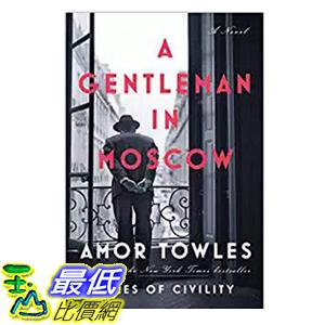 [106美國直購] 2017美國暢銷書 A Gentleman in Moscow:A Novel