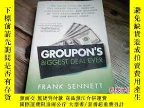 二手書博民逛書店GROUPON`S罕見BIGGEST DEAL EVERY177