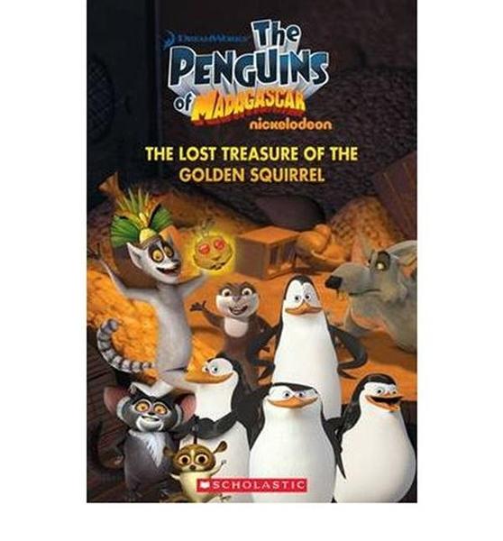 (二手書)Scholastic Popcorn Readers Level 1: Penguins of Madagascar: The ..