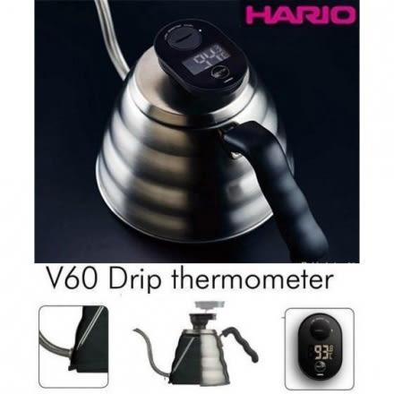 日本 Hario VTM-1B 咖啡液晶電子溫度計 可套用 VKB-100HSV VKB-120HSV手沖壺