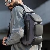 班歌大容量胸包男10/11平板包USB單肩包斜挎包休閒抖音跑車后背包 酷男精品館