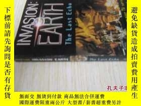 二手書博民逛書店英文原版罕見Invasion Earth: The Last EchoY7215 Peter Cave Hea