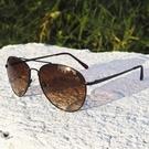 【南紡購物中心】2is K7 太陽眼鏡│飛行員墨鏡│金屬框架│咖啡鏡片│抗UV400