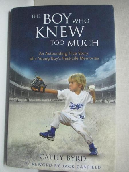 【書寶二手書T1/傳記_D7X】The Boy Who Knew Too Much: An Astounding…