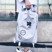 雙肩包-新款韓版原宿背包男女休閒簡約雙肩包潮流個性學生書包旅行包 花間公主