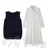 連身裙春款2021年新款潮兩件套裝胖mm大碼女裝新年衣服春秋春裝連衣裙子洋裝 町目家