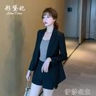 外套 chic網紅小西裝外套女春季時尚休閒顯瘦百搭西服上衣韓國夏