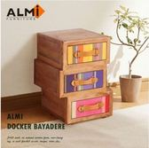 ALMI DOCKER BAYADERE-ASYMMETRIC 3 DRAWERS
