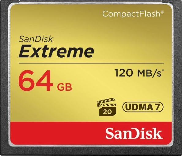 【聖影數位】SanDisk Extreme CF 64GB 記憶卡 R:120MB W:85MB 800X UDMA7 公司貨