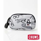 【CHUMS】Eco 零錢包 印花/眼鏡帶圖案-CH600853Z112