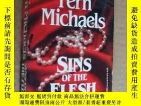 二手書博民逛書店Sins罕見of the Flesh (英文原版 書口三面刷黃)