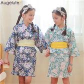 女童和服套裝 日式和風  附腰帶 戲劇表演 party 造型服 扮裝 Augelute 60250