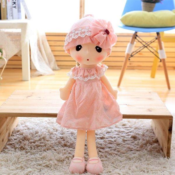 毛絨玩具可愛菲兒布娃娃花仙子玩偶公仔女孩生日禮物公主睡覺抱枕『快速出貨』YTL