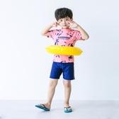 兒童泳衣男童卡通寶寶小中大童青少年可愛學生泳褲套裝分體游泳衣