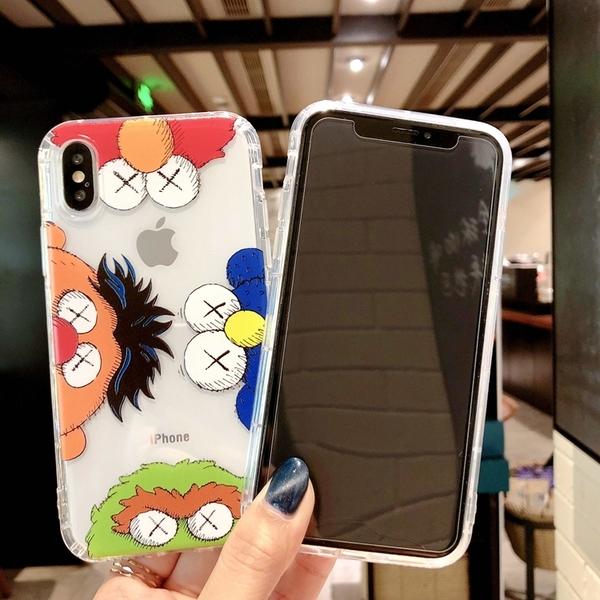 【SZ34】iphone XR 手機殼 卡通芝麻街氣墊防摔殼 iphone XS MAX 11Promax 6s 7 8 plus手機殼