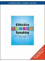 二手書博民逛書店 《The Challenge of Effective Speaking, International Edition》 R2Y ISBN:0495504408