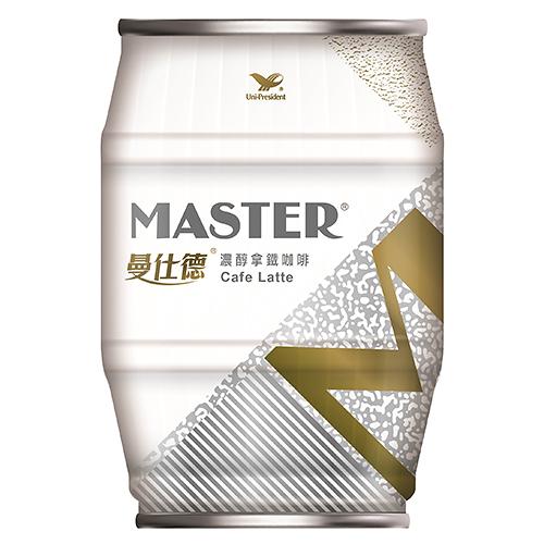 J-曼仕德濃醇拿鐵咖啡235ML【愛買】