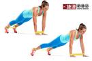 瑜珈伸展健身訓練環狀阻力帶-黃色