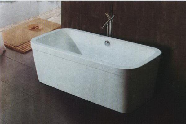 【麗室衛浴】BATHTUB WORLD  G-9012  壓克力  獨立造型缸 170*80*60CM