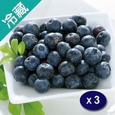 加州藍莓510G±5%/盒X3【愛買冷藏】