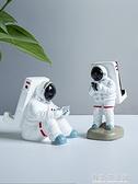 手機支架 太空人手機支架宇航員蘋果iPad支架創意桌面擺件禮物平板座懶人支架看電視 有緣生活館