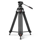 三腳架 捷洋JY0608A/B/C專業攝影攝像機三腳架JY0508A升級款單反佳能索尼液壓阻尼雲 源治良品