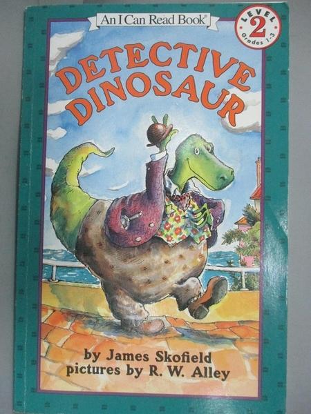 【書寶二手書T9/原文小說_IHT】Detective Dinosaur_Skofield, James