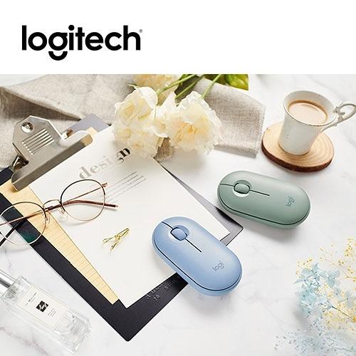 Logitech 羅技 M350 鵝卵石 藍芽無線 雙模 滑鼠