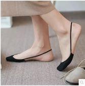 夏季薄款前腳掌半截純棉隱形高跟鞋船襪PLL3770【男人與流行】