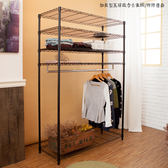 【JL精品工坊】加長型五層鐵力士衣櫥附布套限時免運$1680/衣櫃/收納櫃/衣架/鐵力士層架