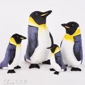 海洋樂園仿真小企鵝公仔馬達加斯加毛絨玩具玩偶抱枕igo「Chic七色堇」