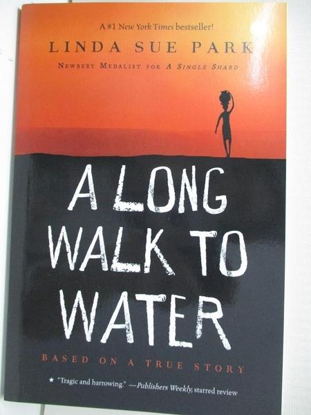 【書寶二手書T3/原文小說_BEQ】A Long Walk to Water_Park, Linda Sue