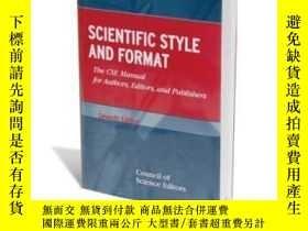 二手書博民逛書店Scientific罕見Style And Format: The Cse Manual For Authors