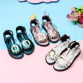女童鞋涼鞋女夏2018新款韓版夏季寶寶童鞋中大童公主鞋小公主鞋子 小巨蛋之家
