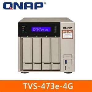 【綠蔭-免運】QNAP TVS-473e-4G 網路儲存伺服器