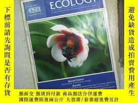 二手書博民逛書店ECOLOGY罕見AUGUST 2006 (01)Y180897
